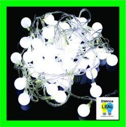 Cordão de Bola Cristal c/ 20 LEDS
