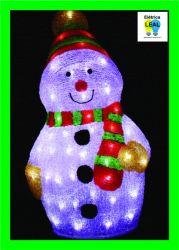 Boneco de Neve de 80 LEDS - Bivolt