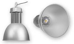 Luminaria Industrial Led High Bay 50W 6000K Bivolt