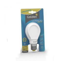 Lâmpada Led Bulbo 10w Bivolt Golden