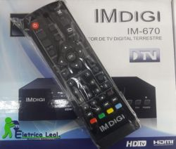 IMDIGI Conversor Digital TV Full HD 1080p HDMI USB
