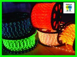 Mangueira Luminosa LED Varias Cores Rolo 10 mts