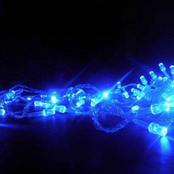 Pisca Pisca 100 LEDs 10m 4 Fases Fio Transparente