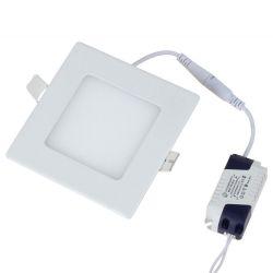 Luminária Plafon Painel Led De Embutir 6w 12x12