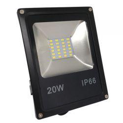 Refletor Led Smd Holofote 20w Projetor Slim ip65 a prova dagua Bivolt