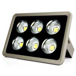 Refletor Holofote Projetor Ultra Led COB Recuado 400w ip65 aprova dagua Bivolt