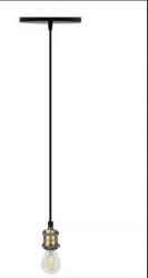 10x Lampadas Filamento Retrô Thomas Edison  220v+10 Fio Pendentes Metal 1m
