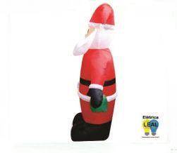 Papai Noel Inflável 3 metros