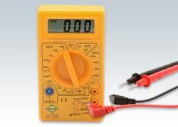 Multímetro Digital com Alarme Sonoro - Amarelo