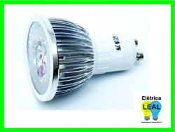 Lâmpada Led MR16 3W   Biv            (Dicroica) GU10
