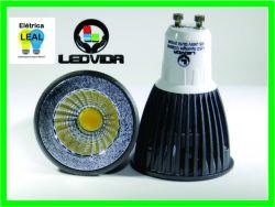 Lâmpada Led MR16 6W COB         (Dicroica) GU10