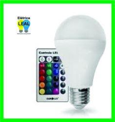 Lâmpada Led Bulbo RGB 5w    Controle Remoto